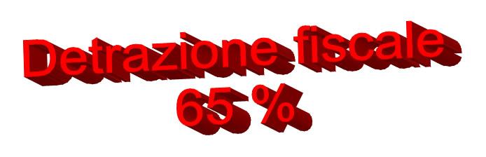 Decreto Legge n.63 del 04 Giugno 2013. Detrazioni fiscali al 65%